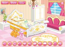 Dekorowanie pokoju księżniczki Cutesy
