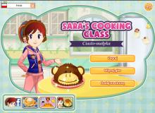 szkoła gotowania Sary - ciasto małpka