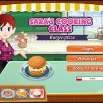 szkoła gotowania Sary - burger-pizza