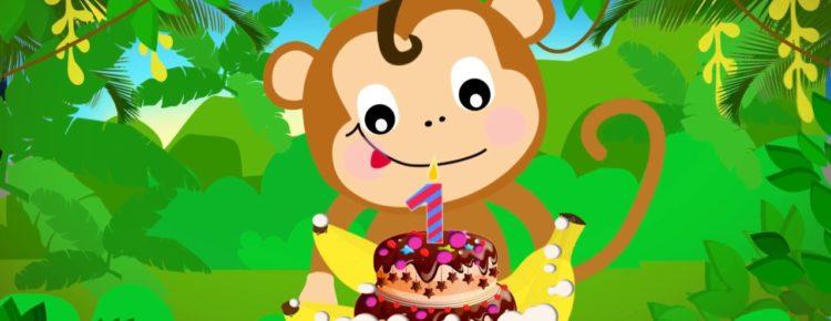 Dziecięce Przeboje – Urodzinki małpiej rodzinki